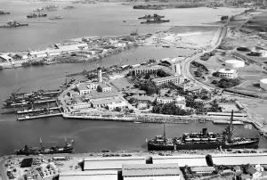 Pearl Harbor before being bombed